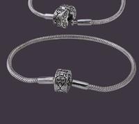 Серебяный браслет Pandora 925 пробы родированный арт. 280