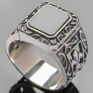 Перстень мужской из серебра 925 пробы арт. 283к