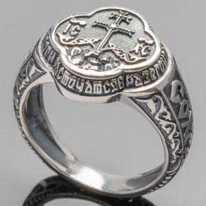 Перстень мужской из серебра 925 пробы арт. 286к