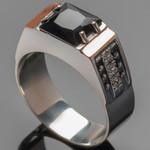 Перстень мужской из серебра 925 пробы арт. 274к