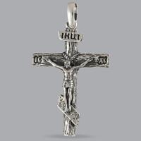 Серебряный Крест 925 пробы арт. 338кр