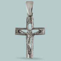 Серебряный Крест 925 пробы арт. 300кр