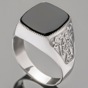 Перстень мужской из серебра 925 пробы арт. 285к