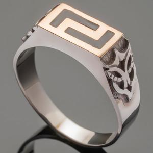 Перстень мужской из серебра 925 пробы арт. 325к