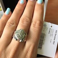 Перстень мужской из серебра 925 пробы арт. 402к