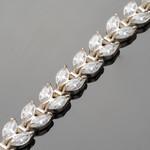 Серебряный браслет с фианитами арт. 315б - 18,5 см
