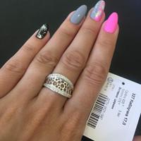 Кольцо серебряное 925 пробы арт. 327к