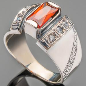 Серебряное кольцо 925 пробы с фианитами арт. 476к