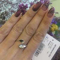 Серебряное кольцо 925 пробы арт. 482к