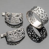 Серебряное кольцо 925 пробы арт. 435к
