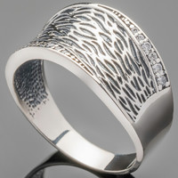 Серебряное кольцо 925 пробы арт. 443к