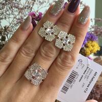 Серебряное кольцо 925 пробы арт. 445к
