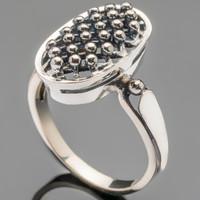 Серебряное кольцо 925 пробы арт. 467к