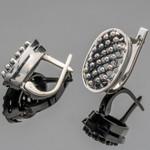 Серебряные серьги 925 пробы  арт. 467с
