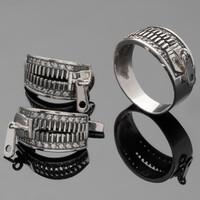 Серебряное кольцо 925 пробы арт. 146к