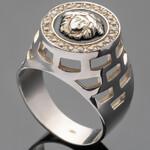 Перстень мужской из серебра 925 пробы арт. 379к
