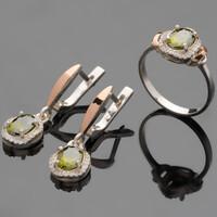 Серебряное кольцо 925 пробы с золотом арт. 450к