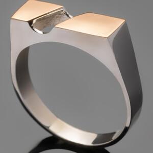 Перстень мужской из серебра 925 пробы арт. 469к