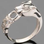 Серебряное кольцо 925 пробы с фианитами арт. 505к