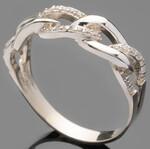 Серебряное кольцо 925 пробы с фианитами арт. 506к