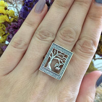 Серебряное кольцо 925 пробы арт. 497к