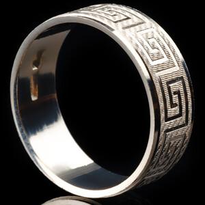 Серебряное обручальное кольцо арт. 60/03к