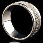 Серебряное обручальное кольцо арт. 80/71к
