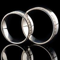 Серебряное обручальное кольцо арт. 60/51к