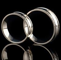 Серебряное обручальное кольцо с золотом арт. 60/36к