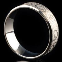 Серебряное обручальное кольцо арт. 60/12к