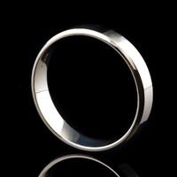 Серебряное обручальное кольцо арт. 50/26к