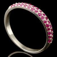 Серебряное кольцо 925 пробы с фианитами арт. 329к