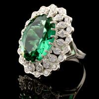 Серебряное кольцо 925 пробы  арт. 524к