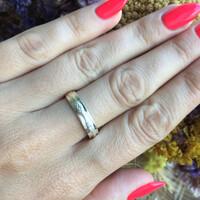 Серебряное кольцо 925 пробы с фианитами арт. 546к
