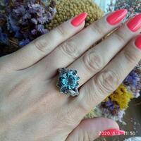 Серебряное кольцо 925 пробы арт. 578к