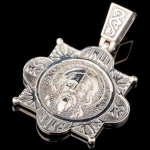 Серебряная ладанка 925 пробы арт. 589л