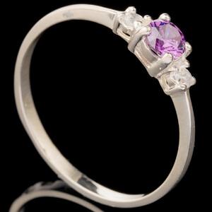 Серебряное кольцо 925 пробы с фианитами арт. 630к