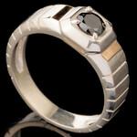 Перстень мужской из серебра 925 пробы арт. 622к