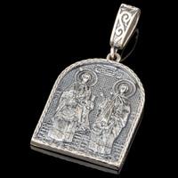 Серебряная ладанка 925 пробы арт. 640л