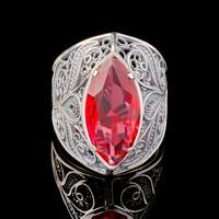Серебряное кольцо 925 пробы арт. 682к
