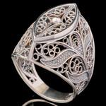 Серебряное кольцо 925 пробы арт. 663к