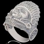 Перстень мужской из серебра 925 пробы арт. 674к