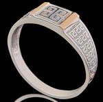 Перстень мужской из серебра 925 пробы арт. 691к