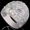 Перстень мужской из серебра 925 пробы арт. 657к