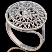 Серебряное кольцо 925 пробы арт. 698к