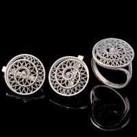Серебряные серьги 925 пробы  арт. 698с