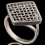 Серебряное кольцо 925 пробы арт. 704к
