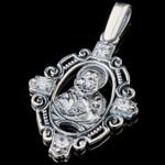 Серебряная ладанка 925 пробы арт. 715л