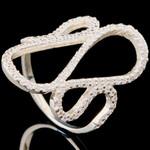 Серебряное кольцо 925 пробы арт. 716к
