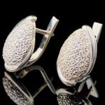 Серебряные серьги 925 пробы арт. 722с